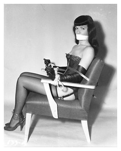 Betty Page In Bondage 94