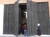 Puertas del museo del Prado de Cristina Iglesias